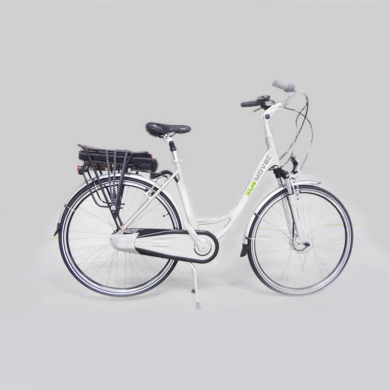 "28"" City Electric Bike Full Chainguard Ebike"
