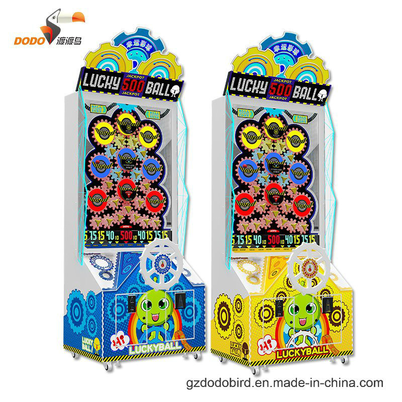 2017 New Launched Lucky Ball Coin Operated Lottery Turntable Game Machine