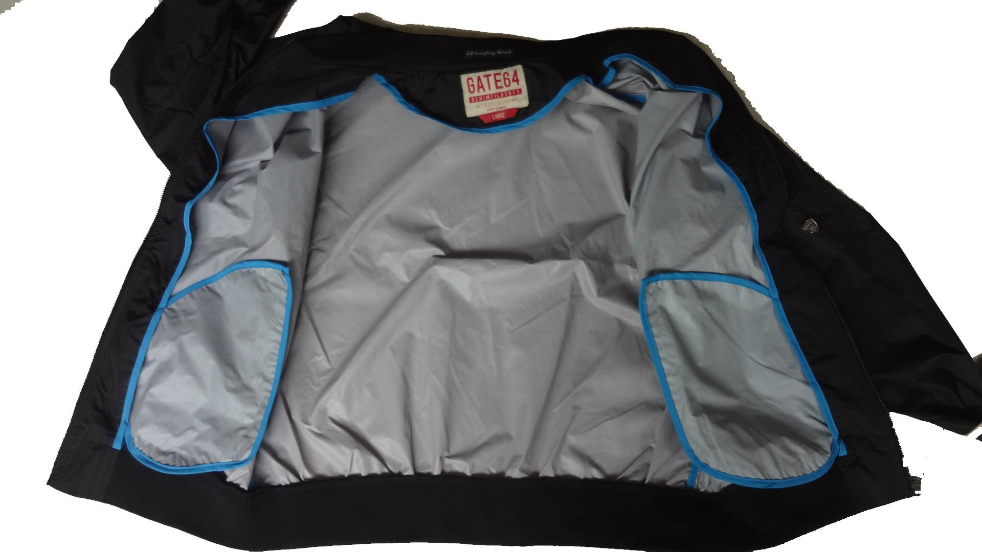 Men′s Spring/Autumn Long Sleeve Jacket with Pen Pocket (15PEGCS004)