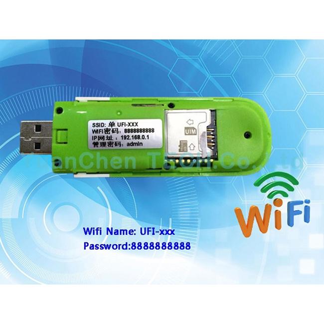 2016 3G Wireless USB WiFi Dongle Modem with SIM Card Slot