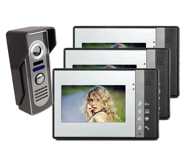 Wired Video Door Phone Video Doorbell with Intercom System