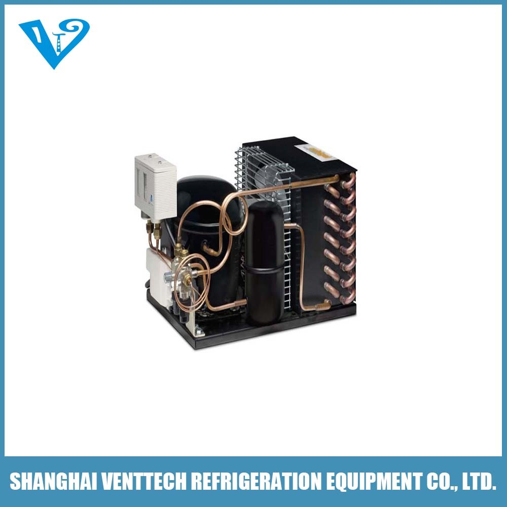 Variable Speed Compressor Condenser Unit for HVAC Application
