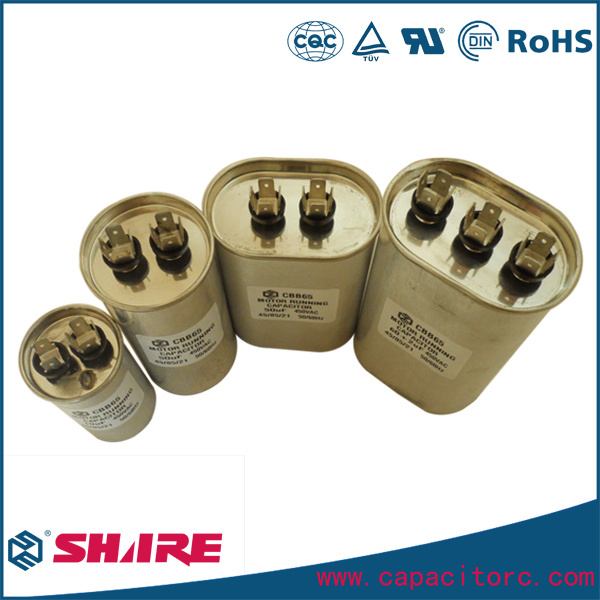 Cbb65 450V Motor Starting Air Conditioner Sh Capacitor