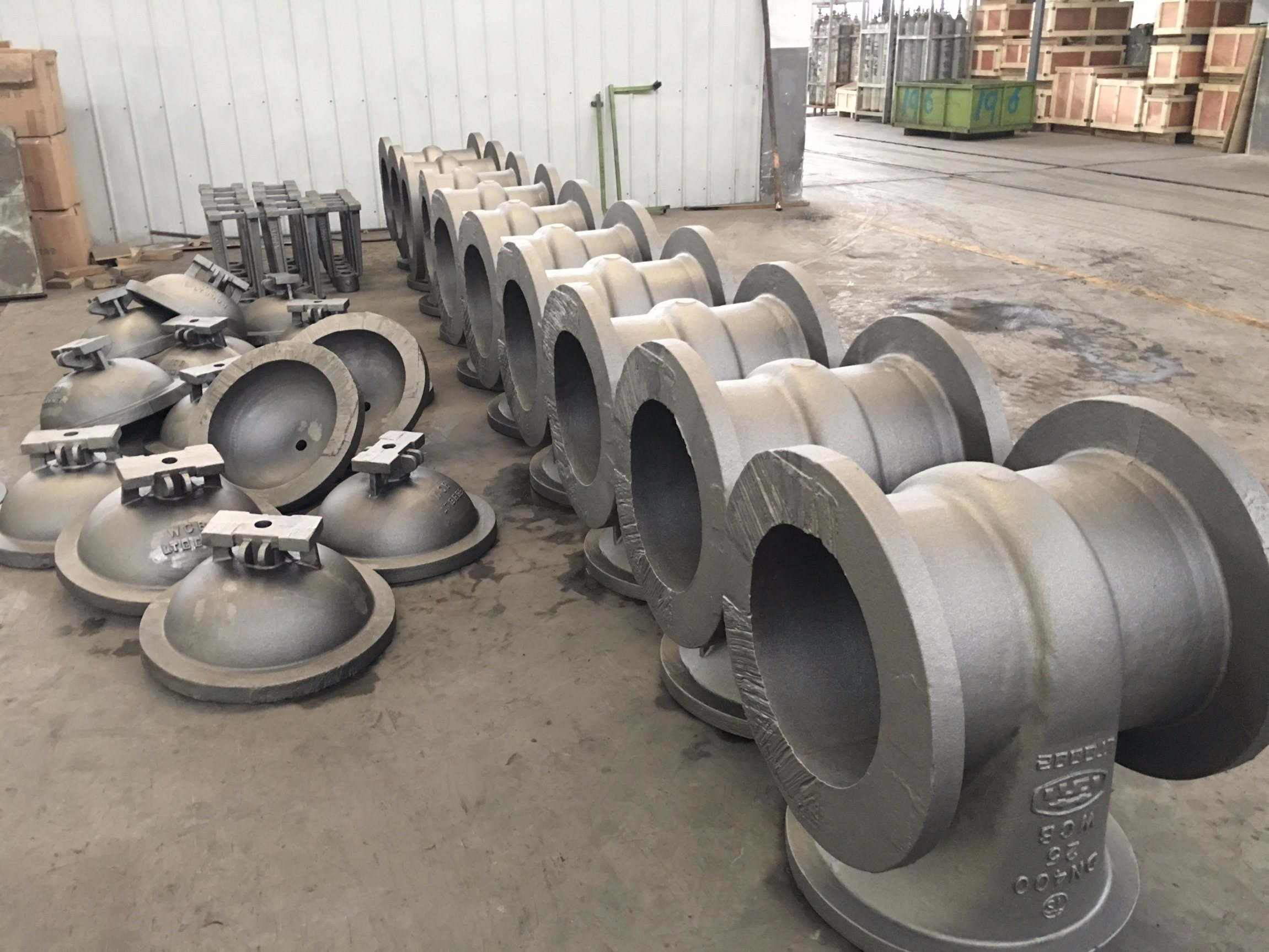Gate Valve Body Parts Body Bonnet Casting Steel Casting