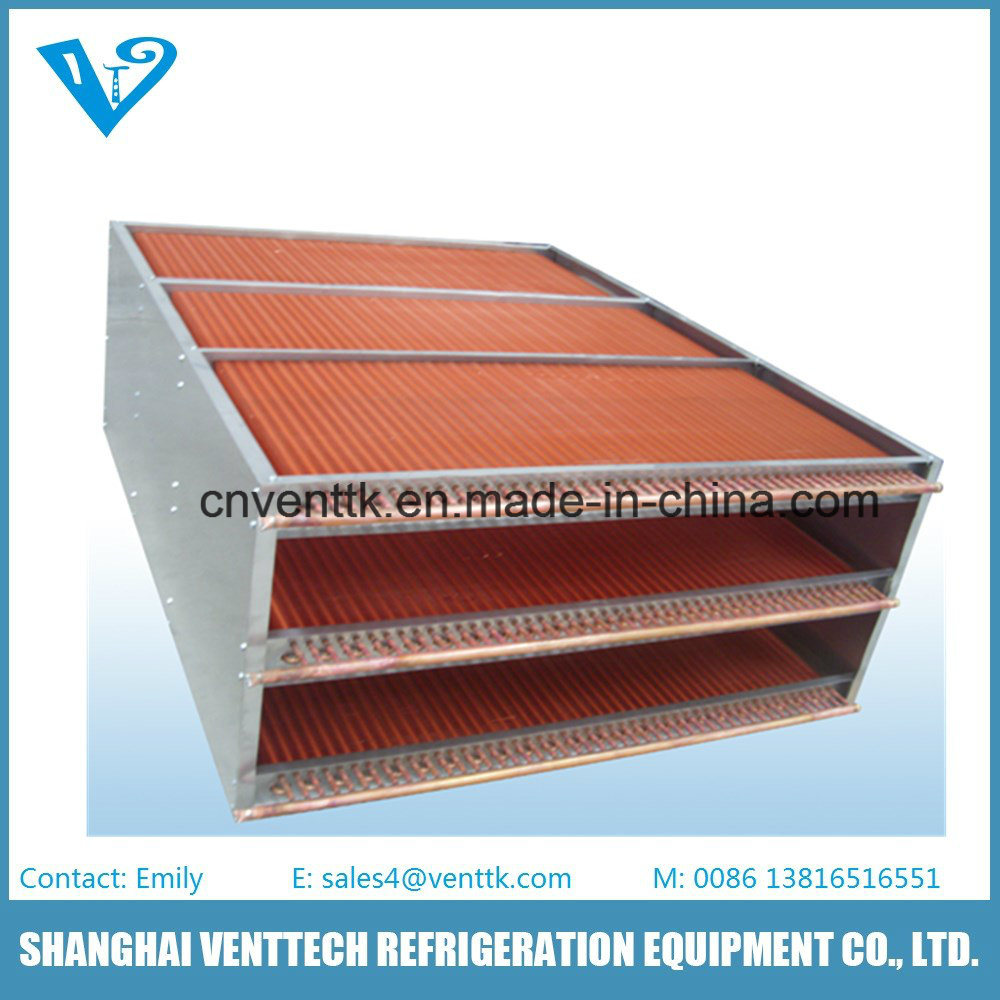 High Efficiency Copper Tube Fin Air Heat Exchanger pictures & photos