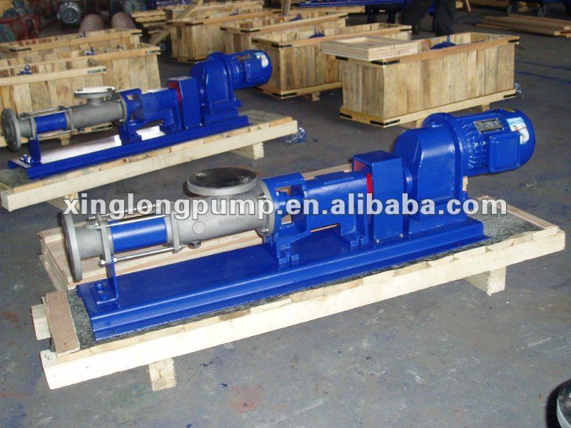 Plastic Single Screw Pump Made in China