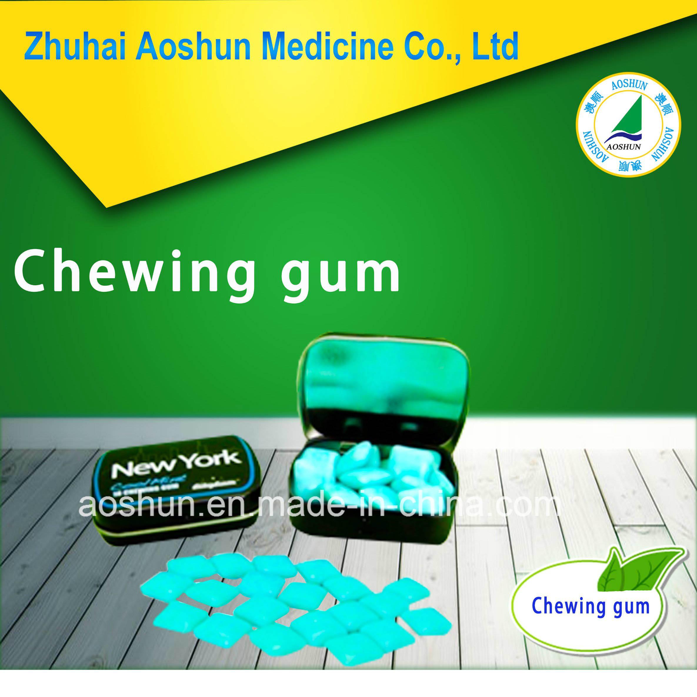 Bubble Gum Sugar Free Xylitol Chewing Gum Energy Bubble Gum