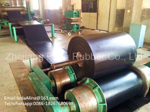 Highway Multi-Ply Fabric Conveyor Belt/ Cotton Conveyor Belt
