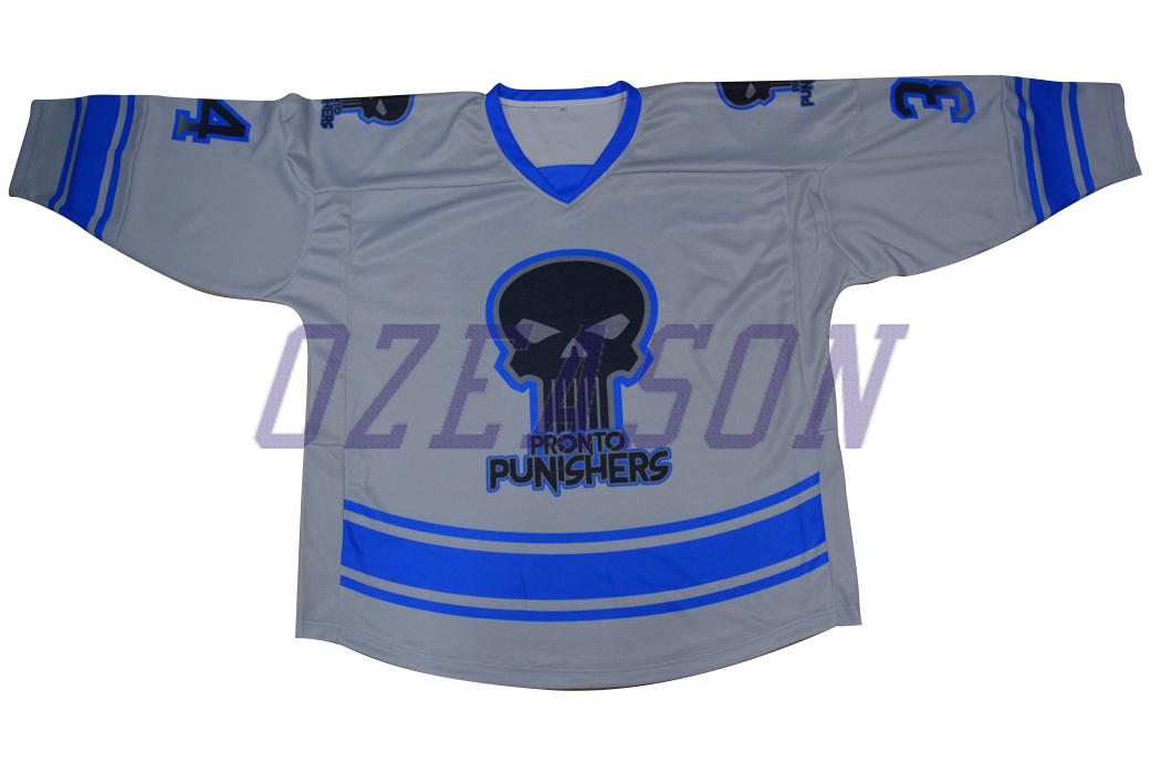 Sublimation Sports Wear Customized Team Polyester Ice Hockey Wear (H018)