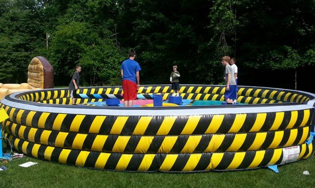Wipeout Eliminator Inflatable, Wipeout Inflatable Sweeper, Meltdown Zone Inflatable Game