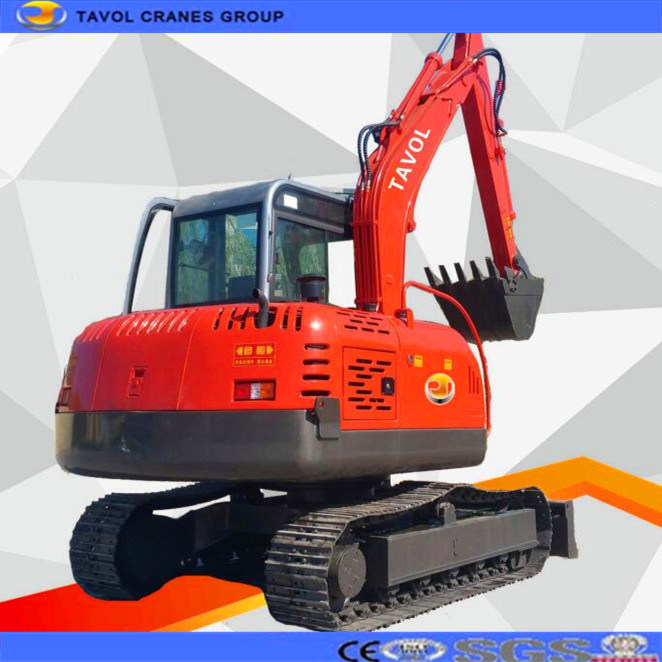Crawler Excavator 2t Mini Earth Moving Machine Construction Machinery Excavator for Sale From China