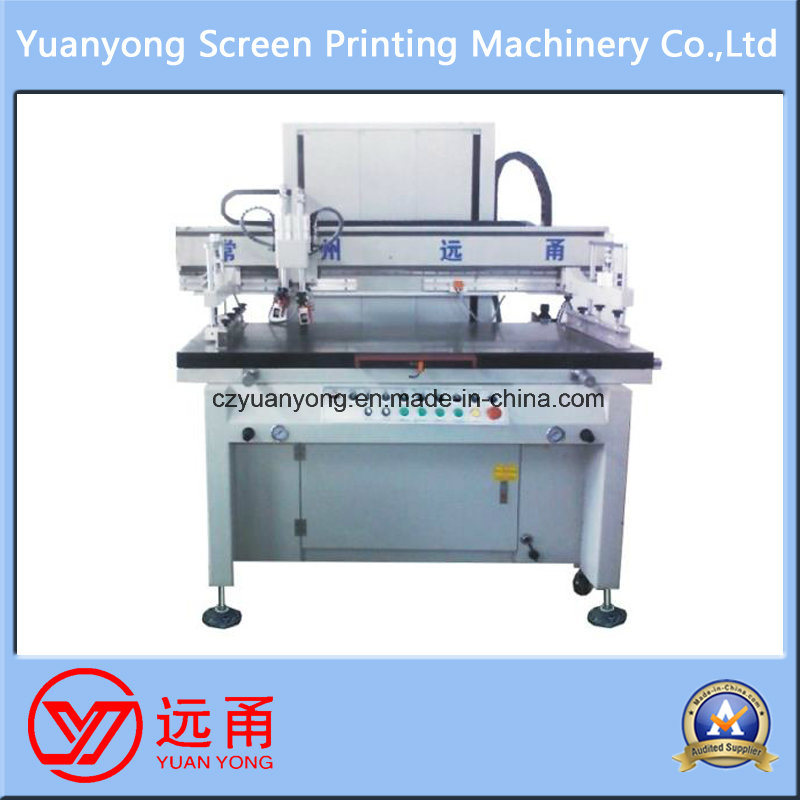 Semi Automatic One Color Label Printing Screen Printing Machine