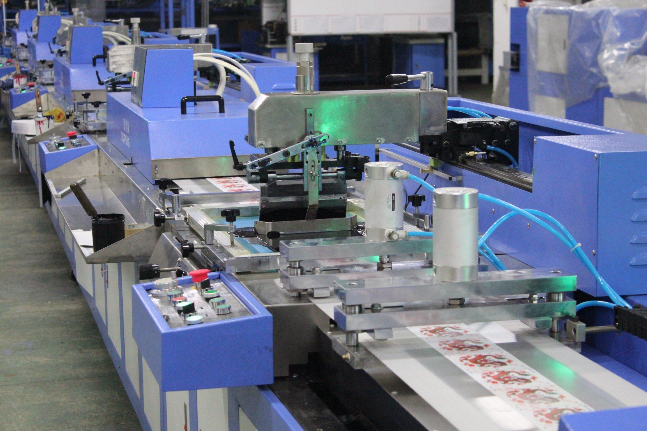 5 Colors Gift Ribbons Silk Screen Printing Machine Best Price