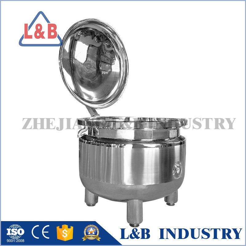 Steel Pressure Pneumatic Cooker Stirring Mixer Food Reactor
