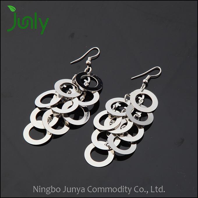 Girls Stylish Earrings Fancy Design Hanging Earrings