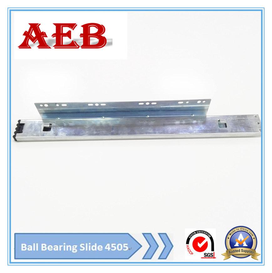 Aeb4505-45mm Full Extension Ball Bearing Drawer Slide for Basket