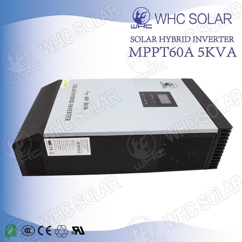 Built-in MPPT Solar Charge Controller 5000va Hybrid Solar Inverter