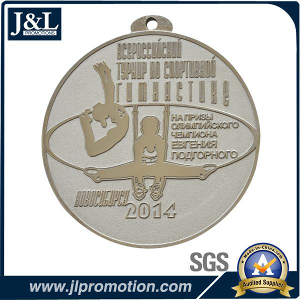 Customer Design Large Size Medal Foggy Background