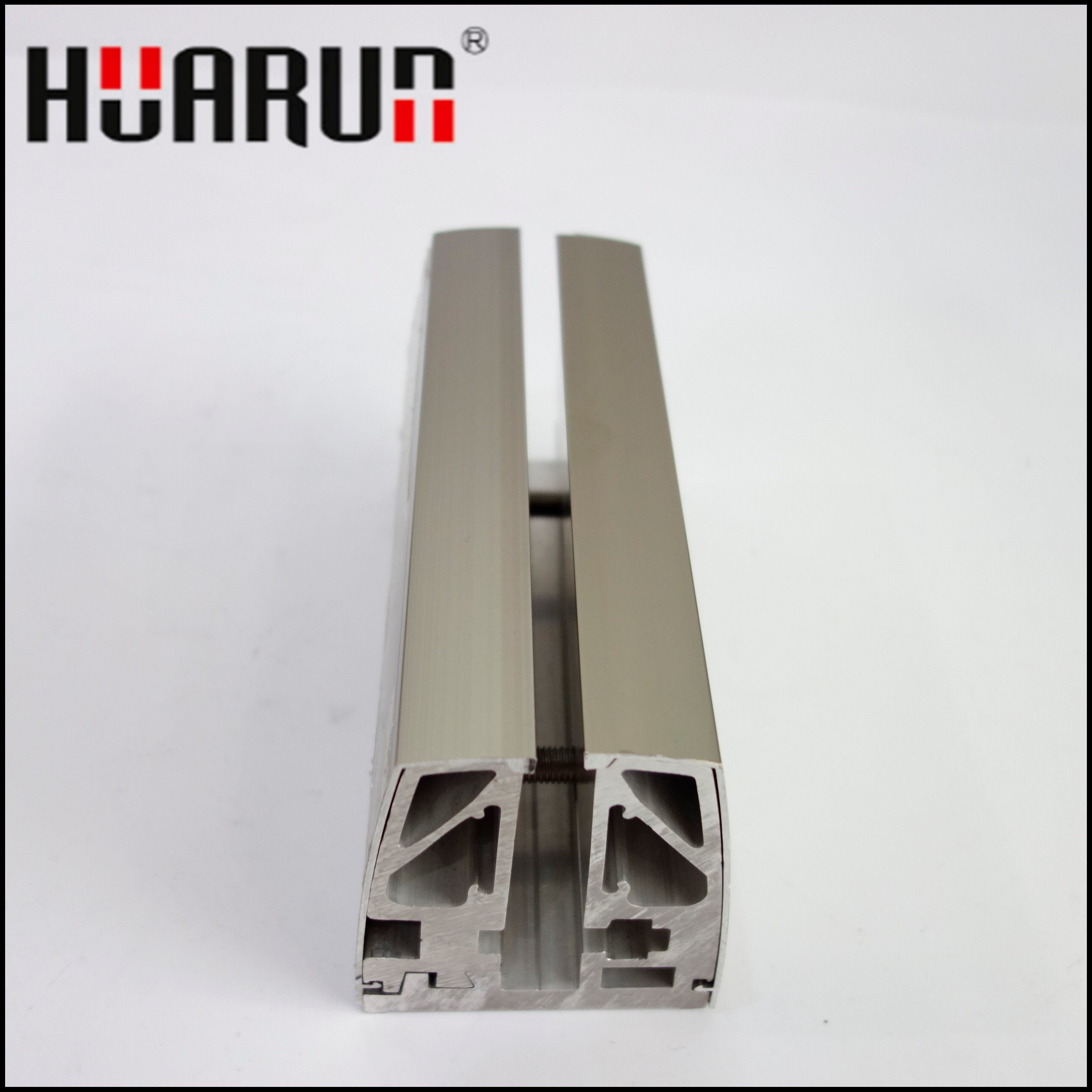 8+8mm or 9+9mm Tempered Aluminum Glass Railing for Glass (HR1300W-3)