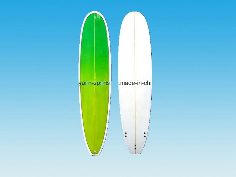 "7′2"" Size Fun Surfboard, Minimal Surf Board PU and Glassfiber"