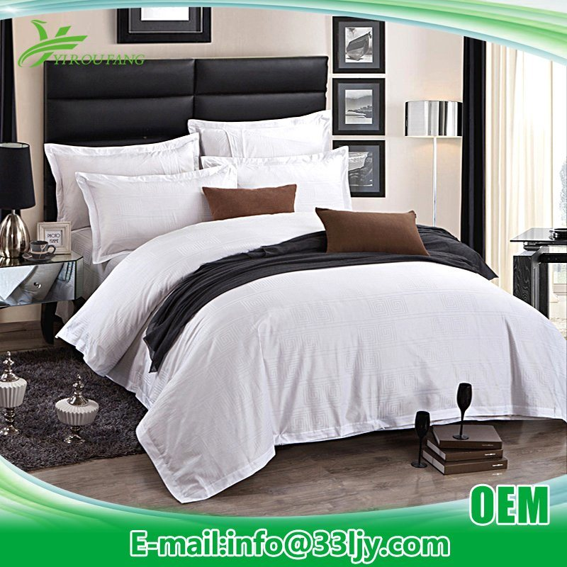 Manufacturer Luxury 350 Thread Count Bedding Mattress with Jacquard