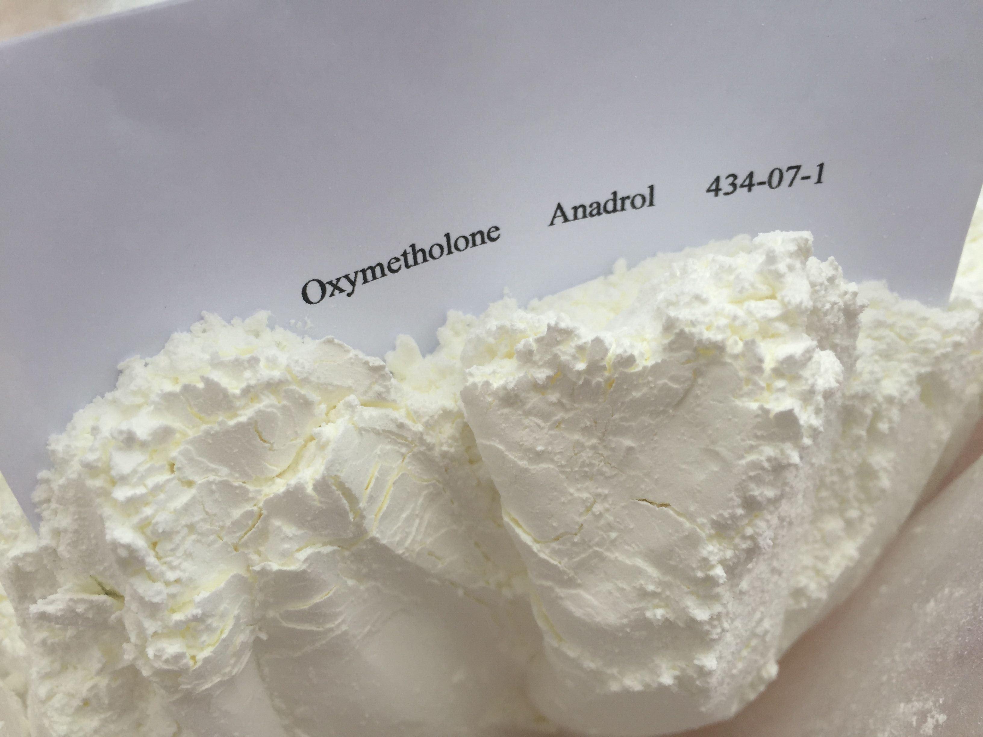 99.5% Purity Anadrol Steroid Raw Powder