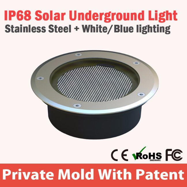 LED Solar Interaction Underground Light