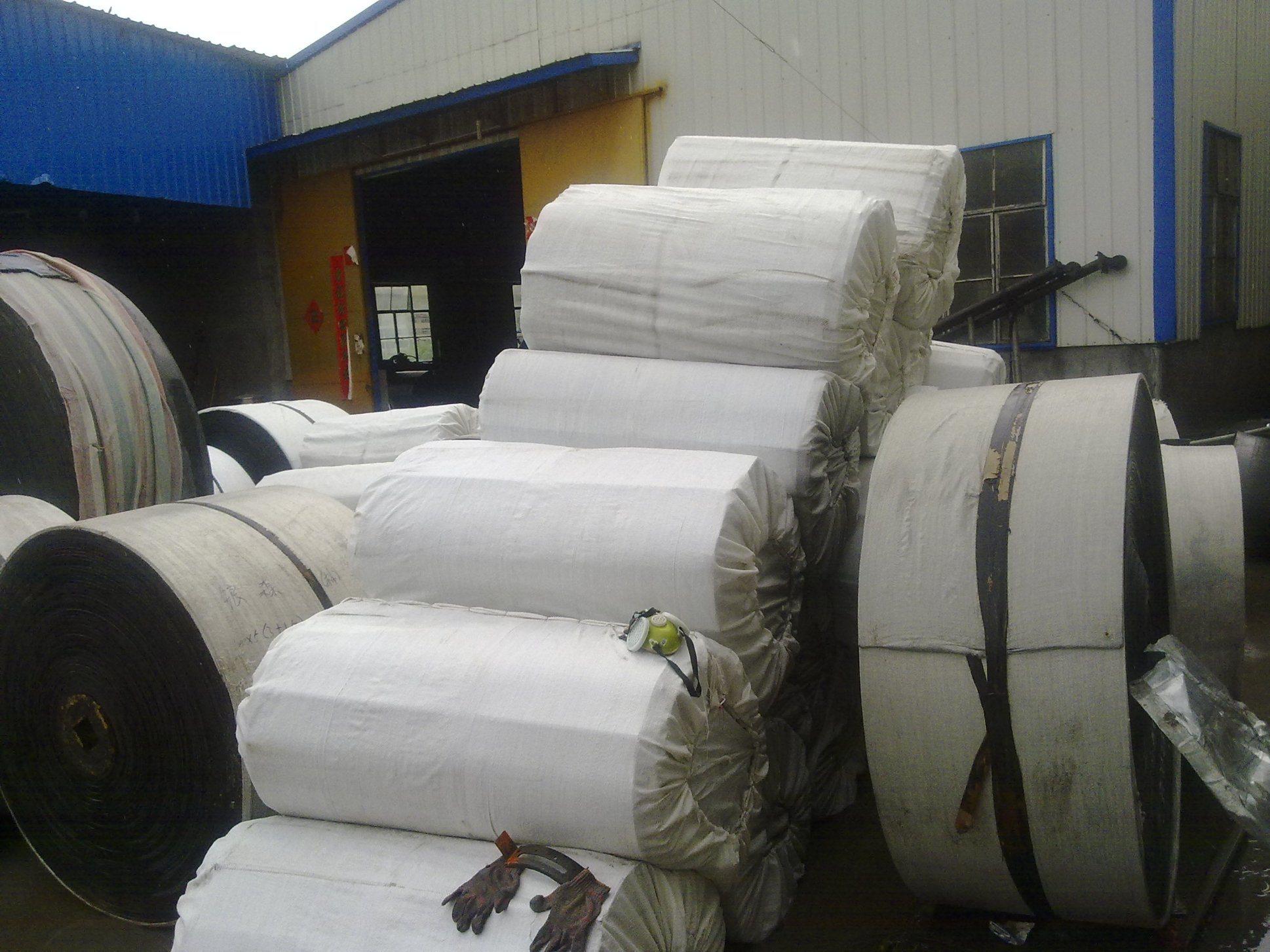 Oil-Resistant Cotton Fabric Rubber Conveyor Belt