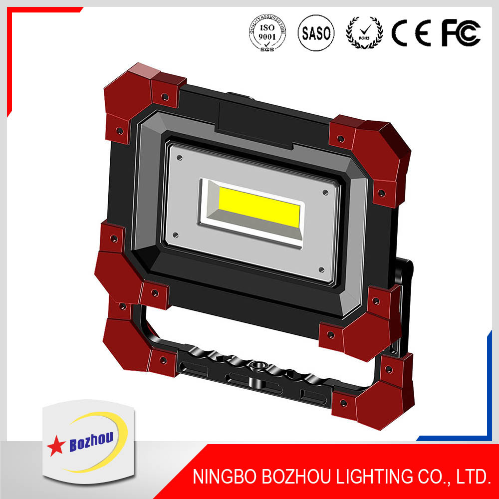 Outdoor Portable Emergency Light 800lm Rechargeable LED Worklight