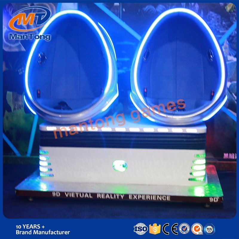 High Quality Amusement Game Virtual Reality Dynamic 9d Egg Vr Cinema Simulator Factory