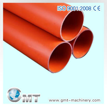 PE PP PVC Single-Wall Corrugated Plastic Pipe Machinery Line Extruder
