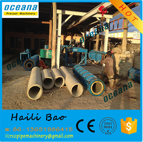 Suspension Roller Precast Concrete Culvert Drainage Pipe Making Machine/Production Lin