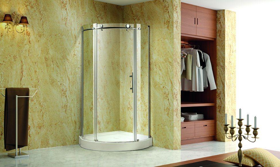Quadrant Shower Room with 2 Sliding Door
