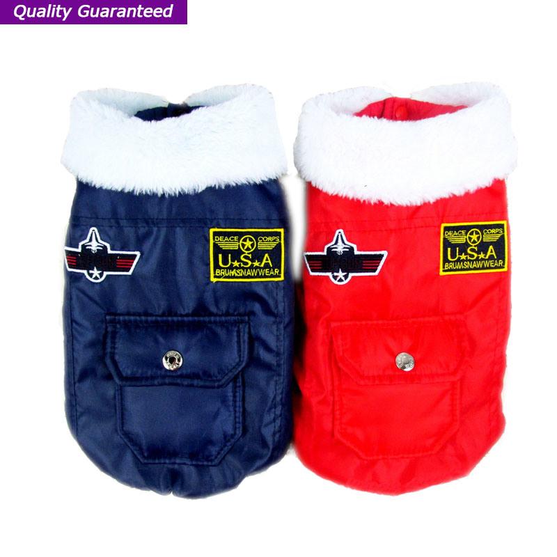 Classic Fleece Pet Product Winter Coat Dog Clothes