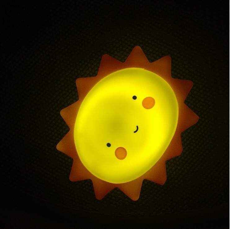 Sun, Moon, Star Baby Night Lamp Light