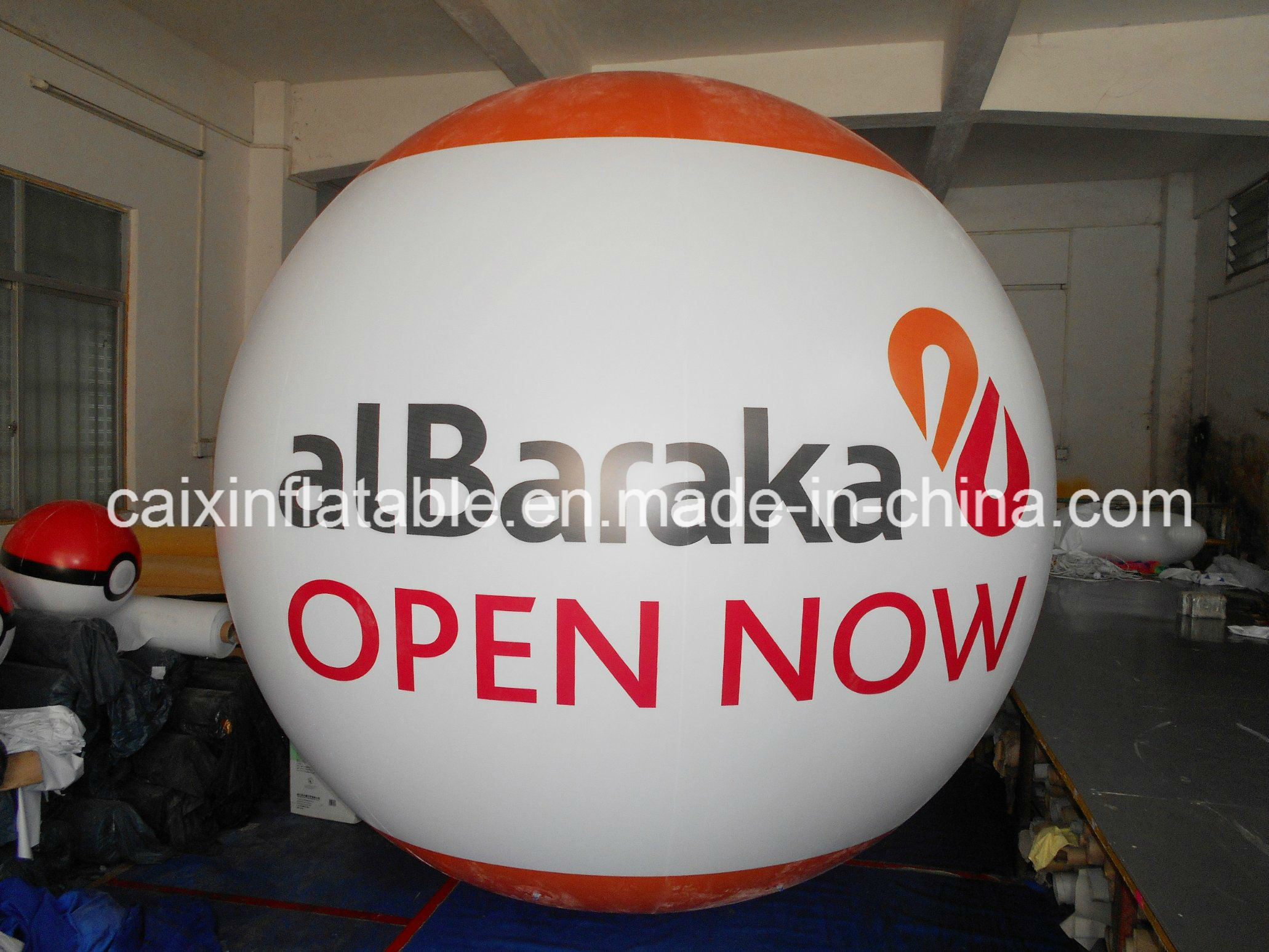 Outdoor Flying Advertising World Cup Inflatable Logo Sphere Balloon