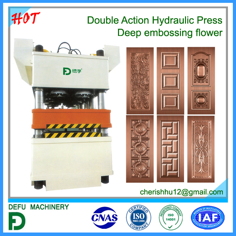 Double Action Hysraulic Press Machine