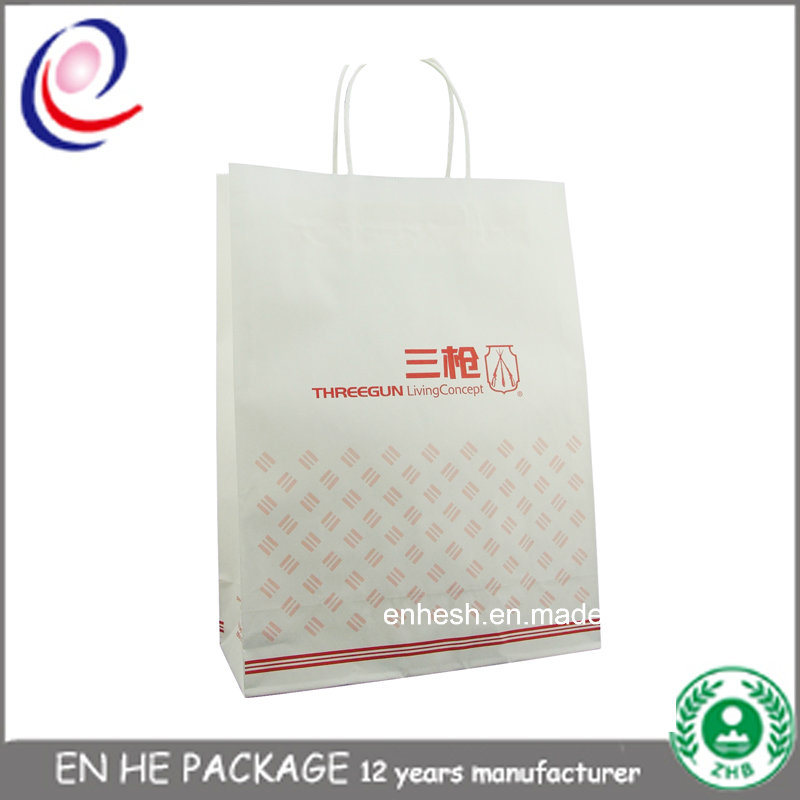 Shopping Bag Manufacture Kraft Paper Carrier Bags