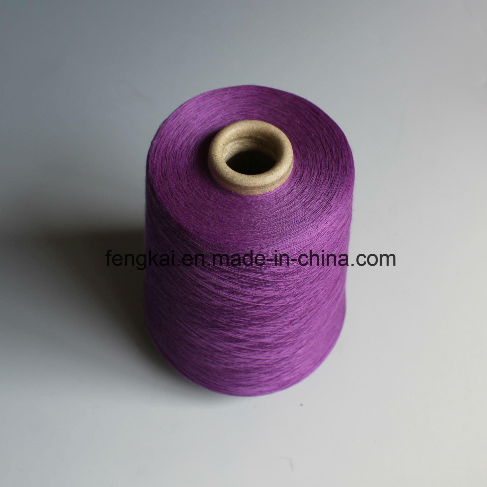 100% Polyester Ring Spun Yarn Close Virgin