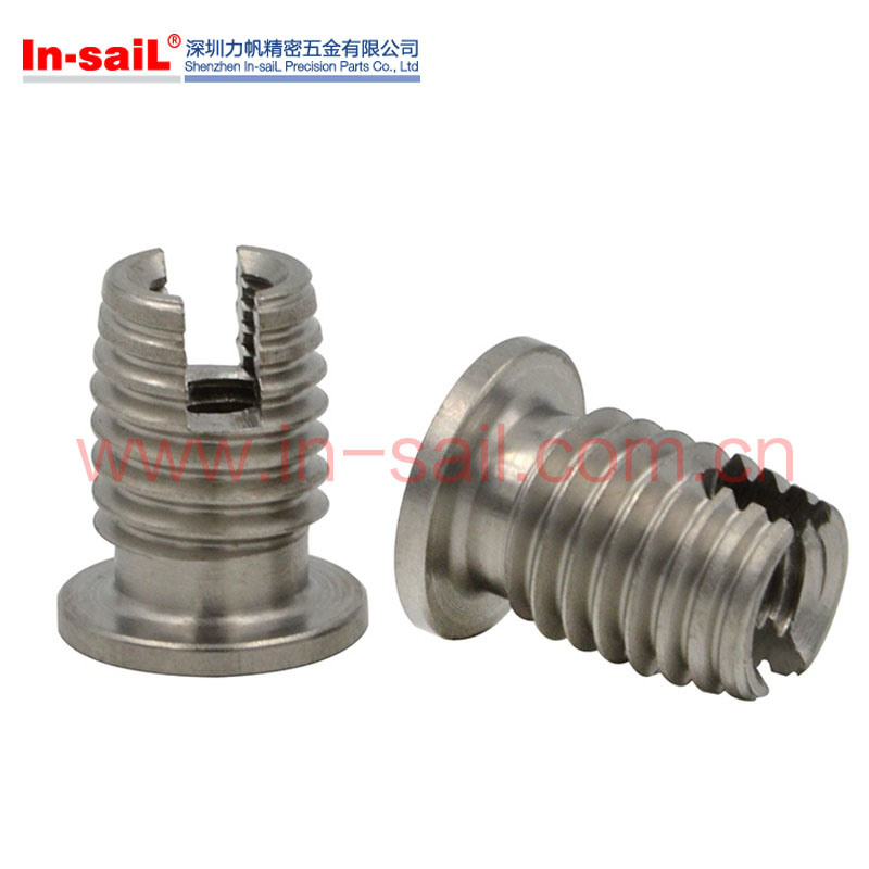 China Fastener Supplier Automatic Tapping Installation Thread Insert Nut Manufacturer