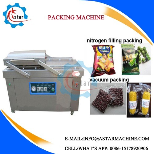 Widely Use Both Nitrogen Filling and Vacuum Packing Machine