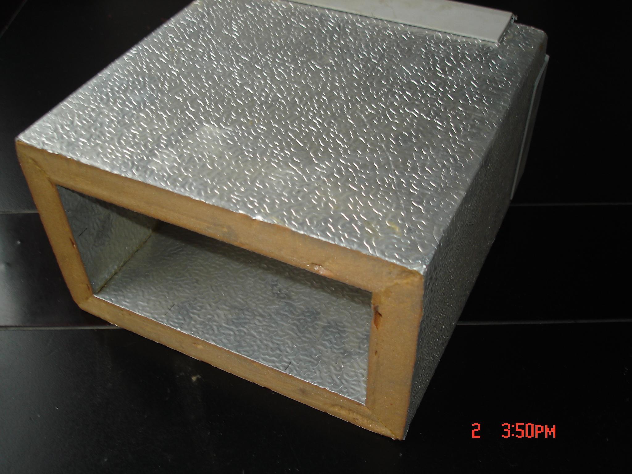 Phenolic Foam Insulation : China phenolic foam air duct heat insulation