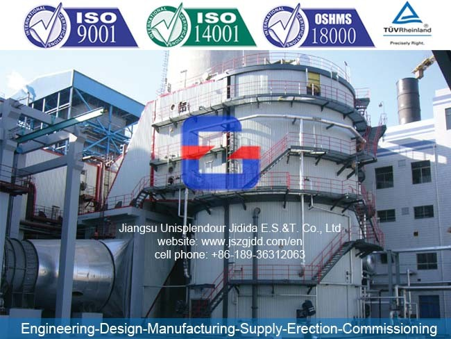 Jdw-112X2 (ESP) Industrial Electrostatic Precipitator for Biomass Power Plant
