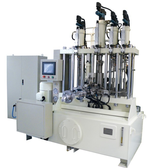 Continous Production Mixing Machine 4 Kind Color Paste Automatic Metering Static Mixer