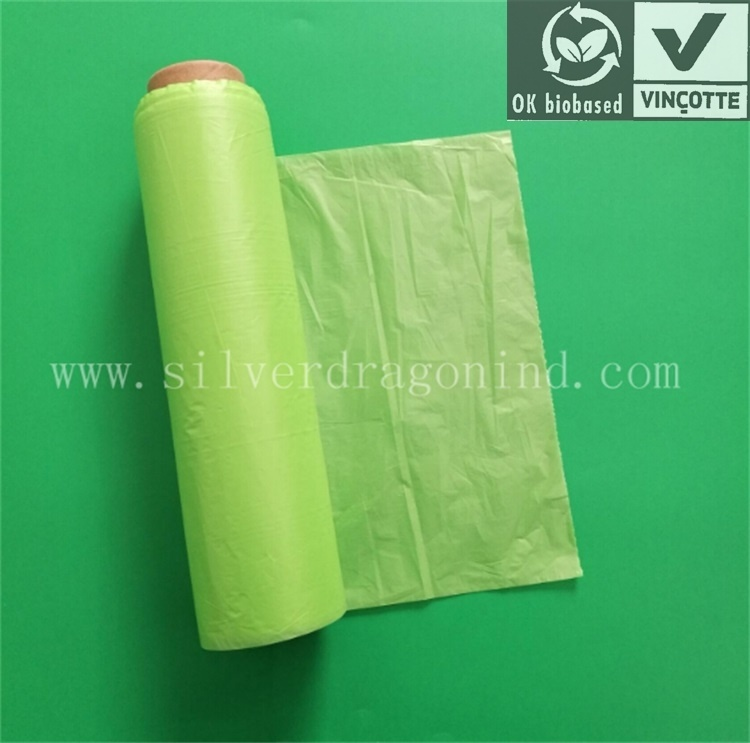 Bio-Based Biodegradable Bag, Compostable Eco-Friendly Poly Bag