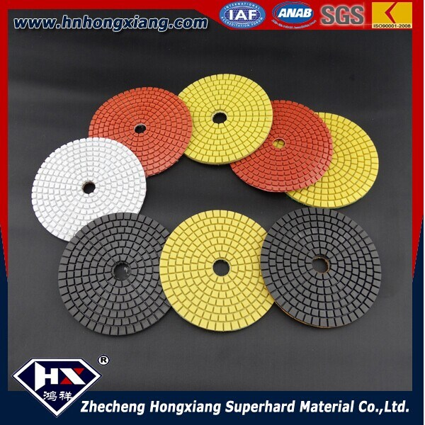 High Smoothly Grinding Pads Diamond Polishing Pads for Marble Stone