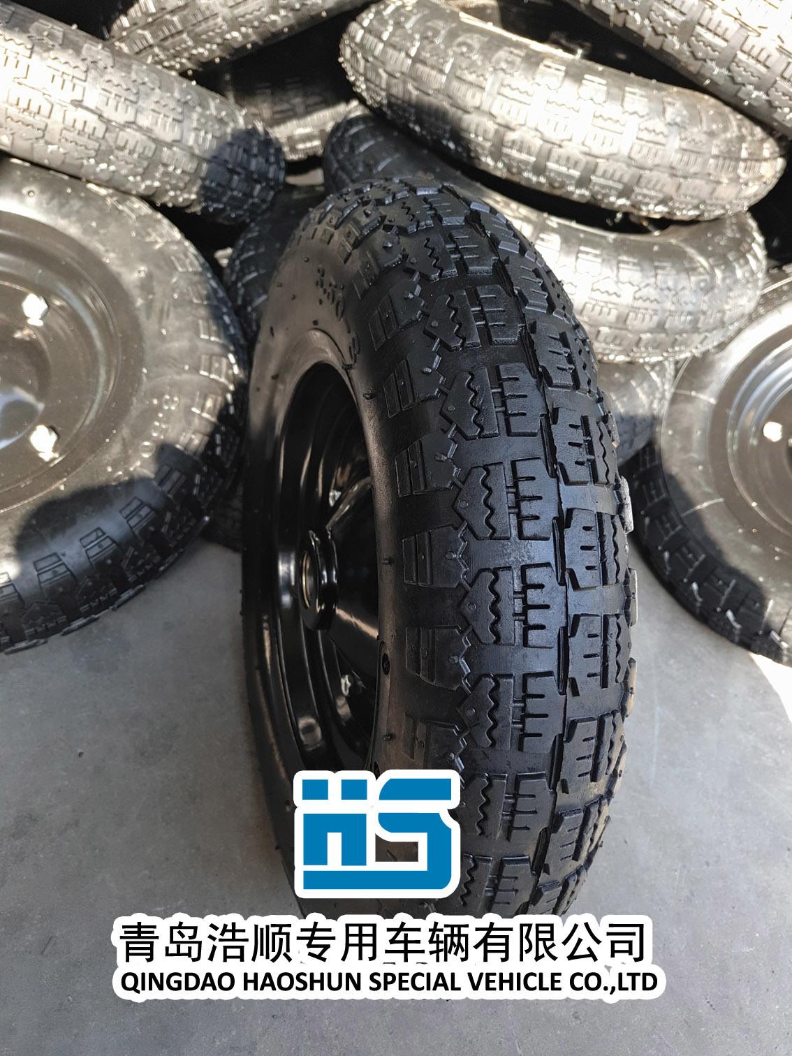 Rubber Wheel Carretilla Neumatico Wheelbarrow Wheel Wheelbarrow Tyre Tube 3.50-7 3.50-8