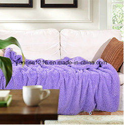 Soft High Quality Blanket Sr-B170212-26 Two Sides Sherpa Blanket