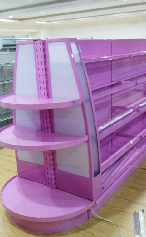 Metal Supermarket Shelf for Commodity and Comestics