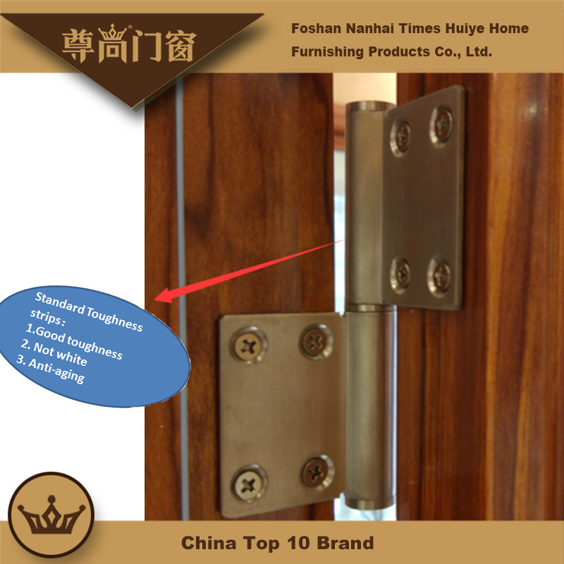 New Color Aluminum Frame Bathroom Door